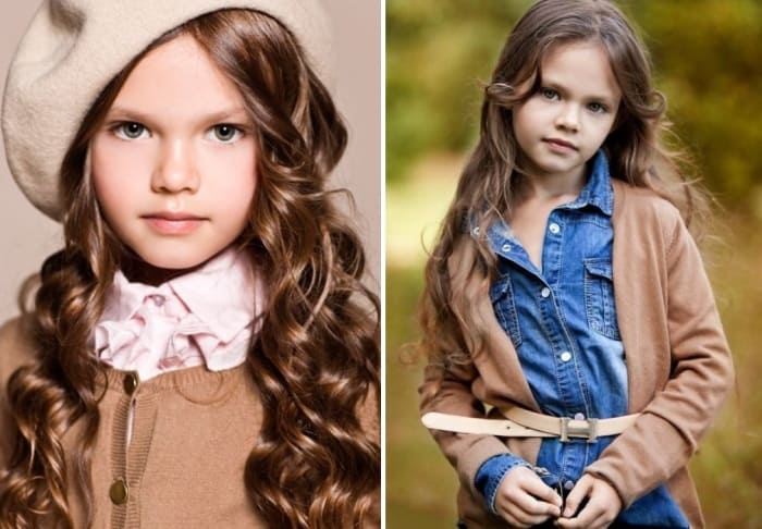 Диана Пентович | Фото: kids-models.ru, fashionbookkids.ru