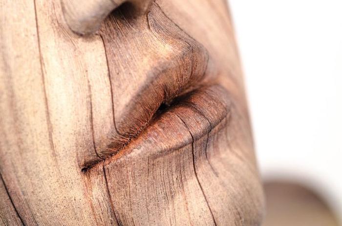 """Обман зрения: как создать """"деревянные"""" скульптуры без использования древесины"""