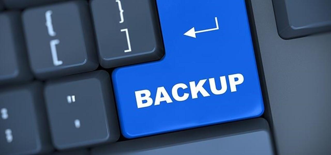 Как правильно настроить бэкап и сохранить ваши важные данные
