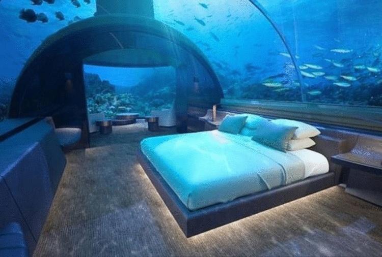 На Мальдивах появилась первая в мире подводная вилла