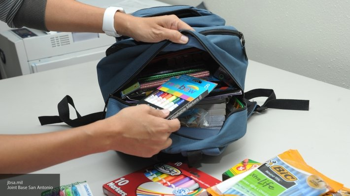 В Калининграде у школьницы украли рюкзак