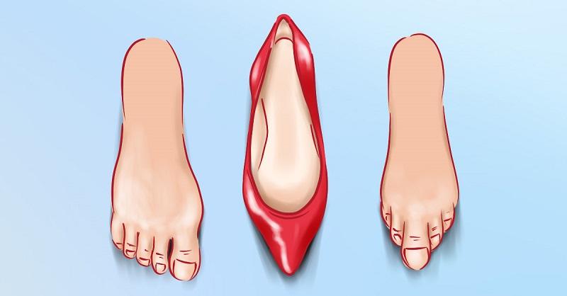 дня пять как подобрать обувь если пальцы длинные фото газете