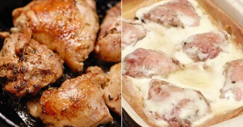 Уже перепробовала десятки рецептов приготовления птицы, но курица в тесте однозначно самый удачный