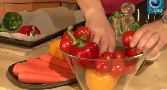 Быть Сержем Марковичем: Салат из перца с имбирем