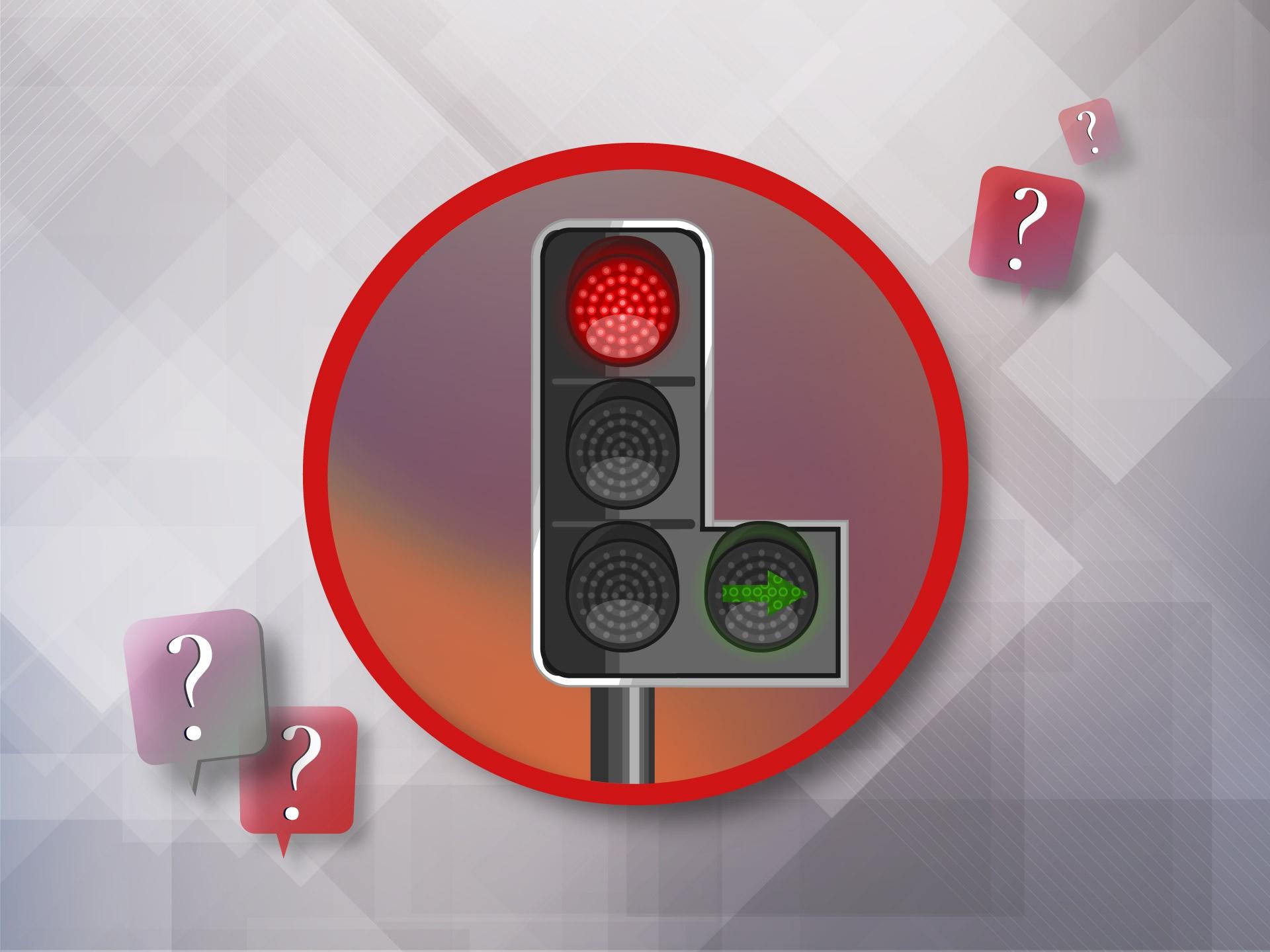 Можно ли не поворачивать на зеленую стрелку светофора, если вам нужно прямо авто,авто и мото,водителю на заметку,гибдд,дтп,машины,пдд,Россия,советы,штрафы и дтп