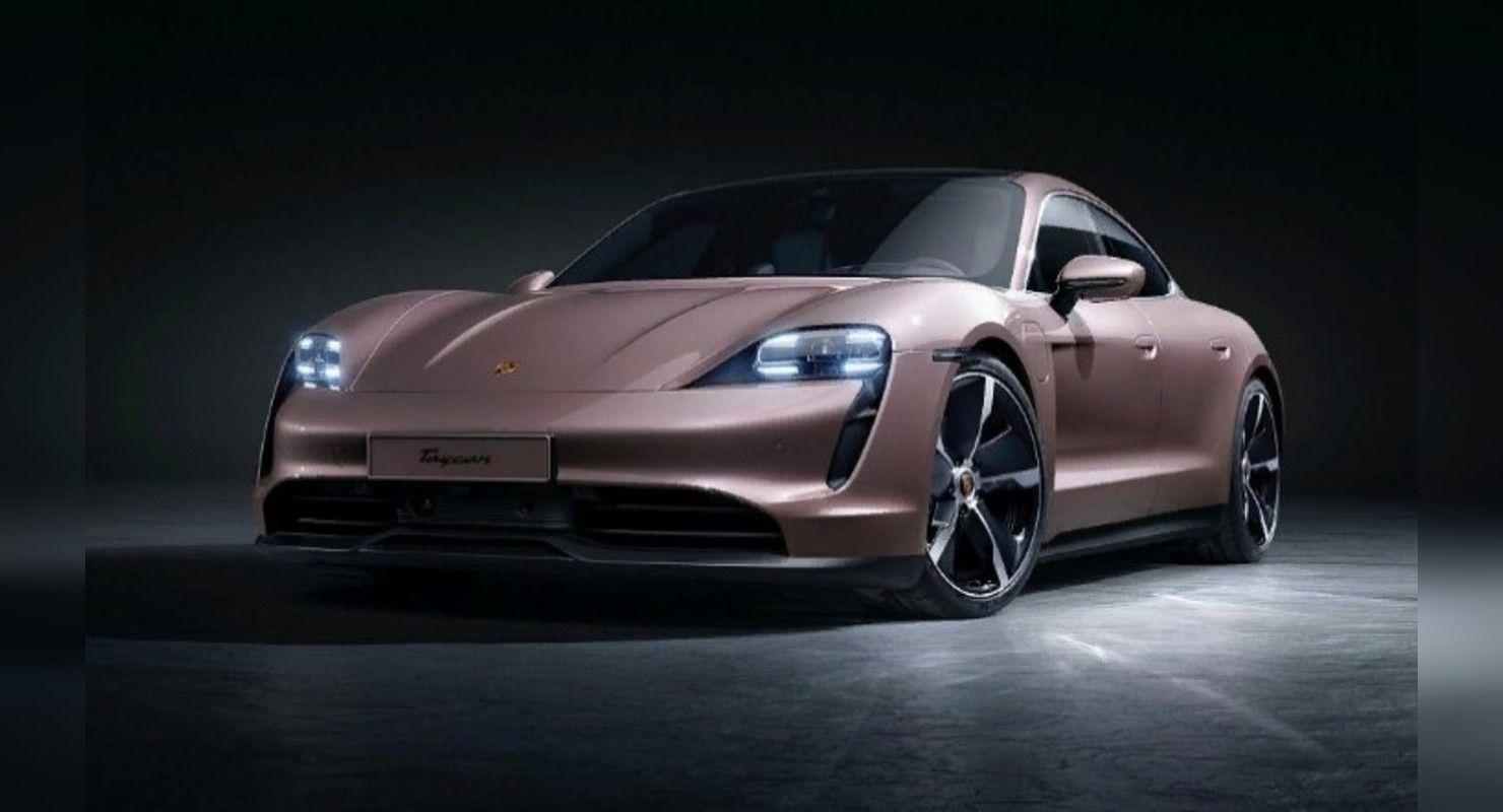 Базовый Porsche Taycan выходит за пределы Китая Автомобили