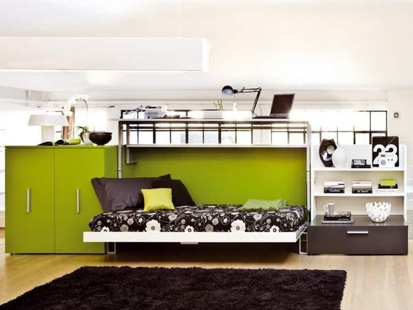 как расставить мебель в комнате однокомнатной квартиры, фото 12