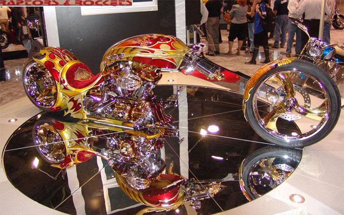 Gold Plated Custom Chopper