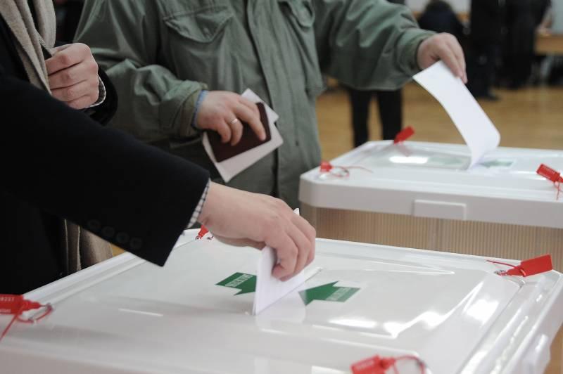 Выборы как средство информац…