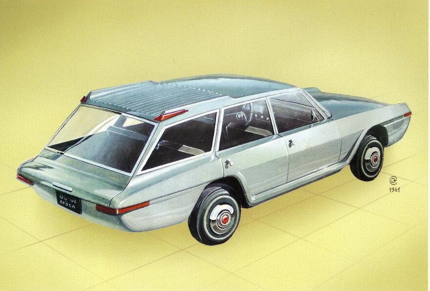 12 необычных автомобилей советского дизайнера Эрика Сабо авто и мото,прошлый век