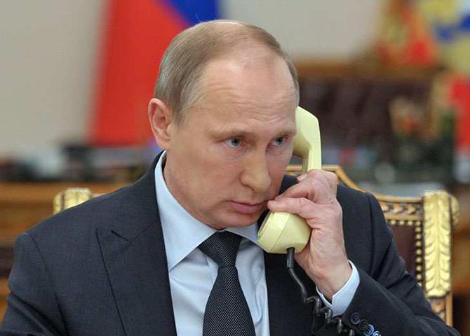 Путин и Порошенко поговорили…