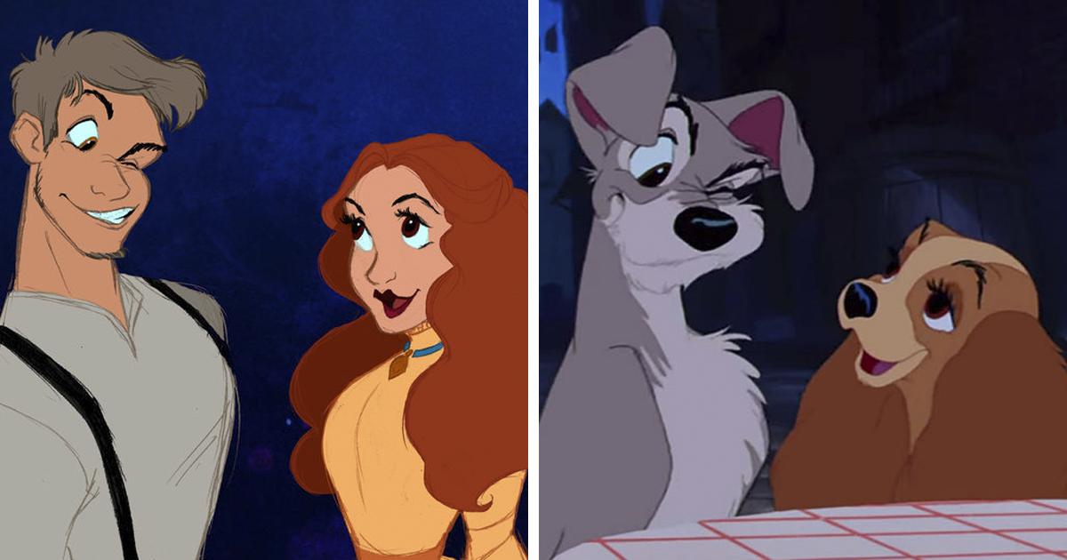 45+ Non-Human Cartoon Characters As Humans
