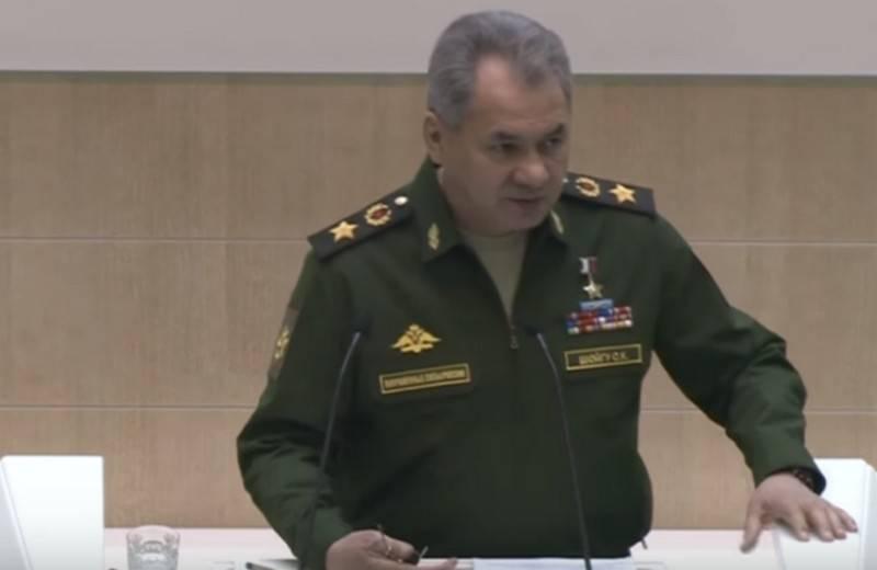 Шойгу рассказал о попытках российской оппозиции проникнуть на военные объекты