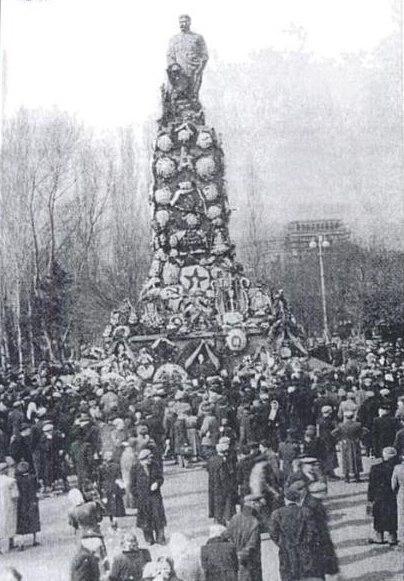 Март 1956 года на улицах Тбилиси
