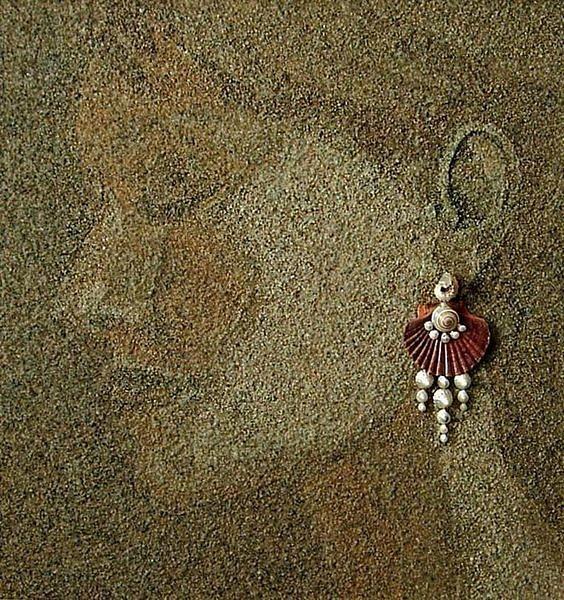 Художница Светлана Иванченко создает прекрасные картины из песка и морских ракушек. Как же все-таки красиво! handmake,поделки своими руками,разное,художество