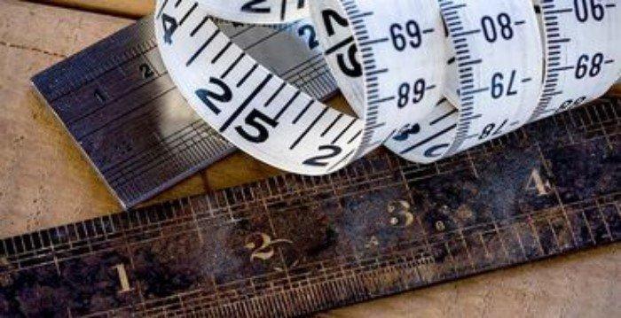 Интересно о метрической и дюймовой системах измерений