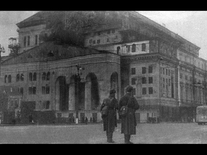 Великая Отечественная война болото, большой театр, загадки, пожар, таинственное место, тайны