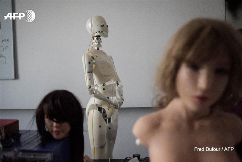 В Китае создали секс-роботов…