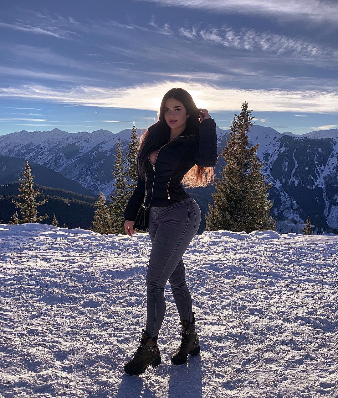 Анастасия Квитко на фото в Instagram портрет
