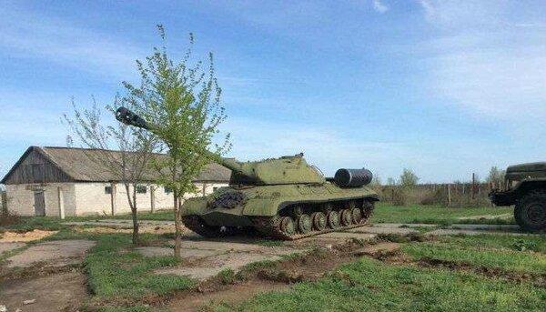 «И без орудия танк воин, если он русский», или последняя битва легендарного ИС 3 летом 14 го года на Донбассе