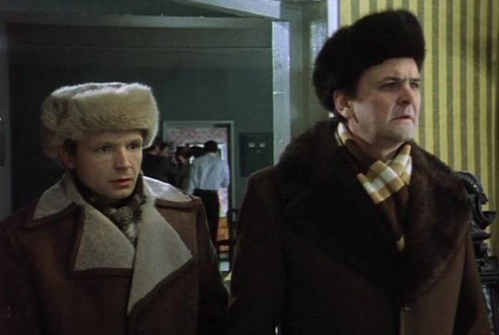 Шапки-ушанки как у Жени и Ипполита были очень популярны во времена СССР.