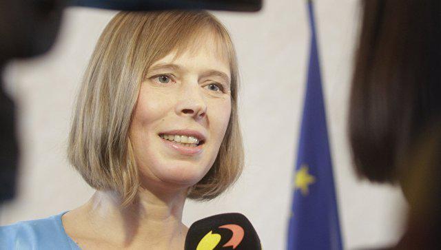 Президент Эстонии рассказала…