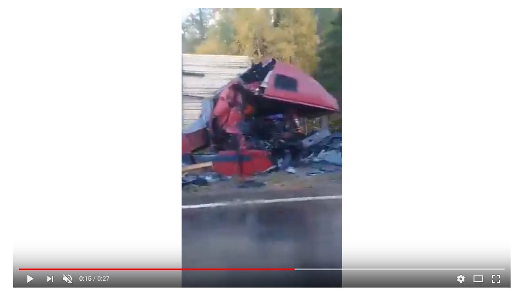 На трассе в Бурятии в серьезном ДТП погибли два человека