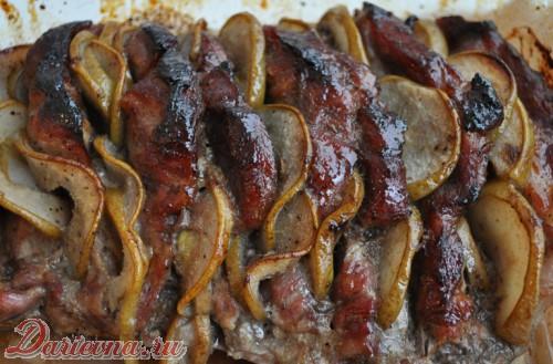 мясо с грушами
