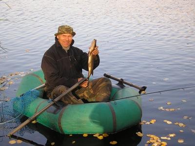 Рыбалка на хищника поздней осенью