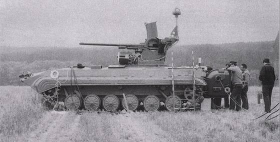 Послевоенные зенитные установки Чехословакии