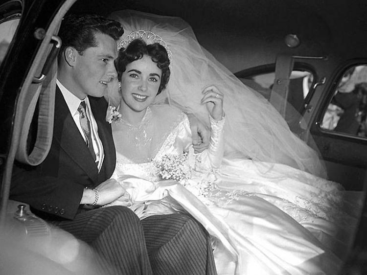 Первая свадьба Элизабет Тейлор. Чтобы помнили...