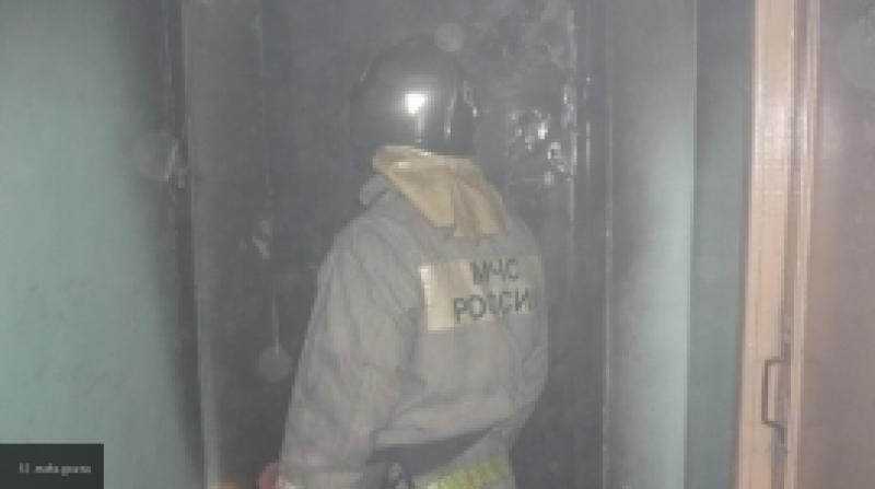 На пожаре в Новосибирске погибла семья из трех человек