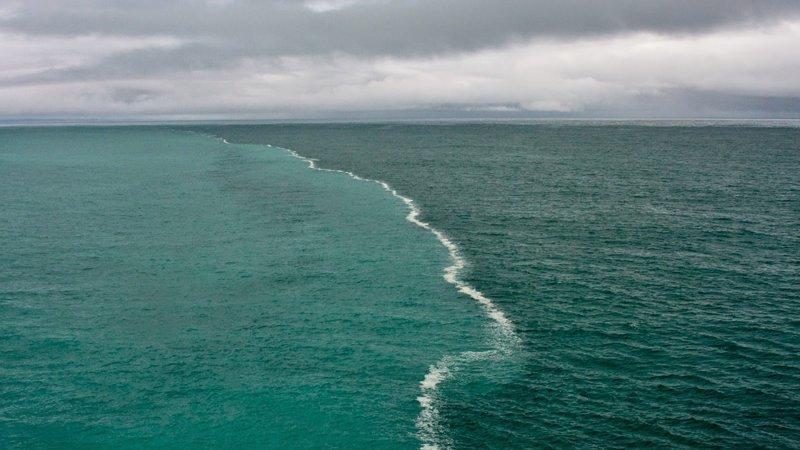 Место, где встречаются два океана природа, природные явления, удивительная природа