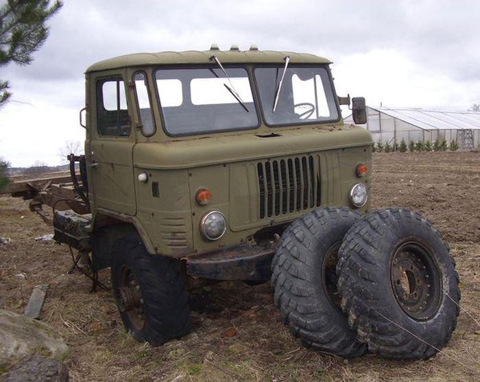 Хаммер из ГАЗа-66 (18 фото)