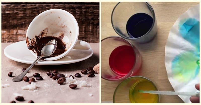 Не выливайте остатки варёного кофе! Посмотрите, какой шедевр может у вас получиться