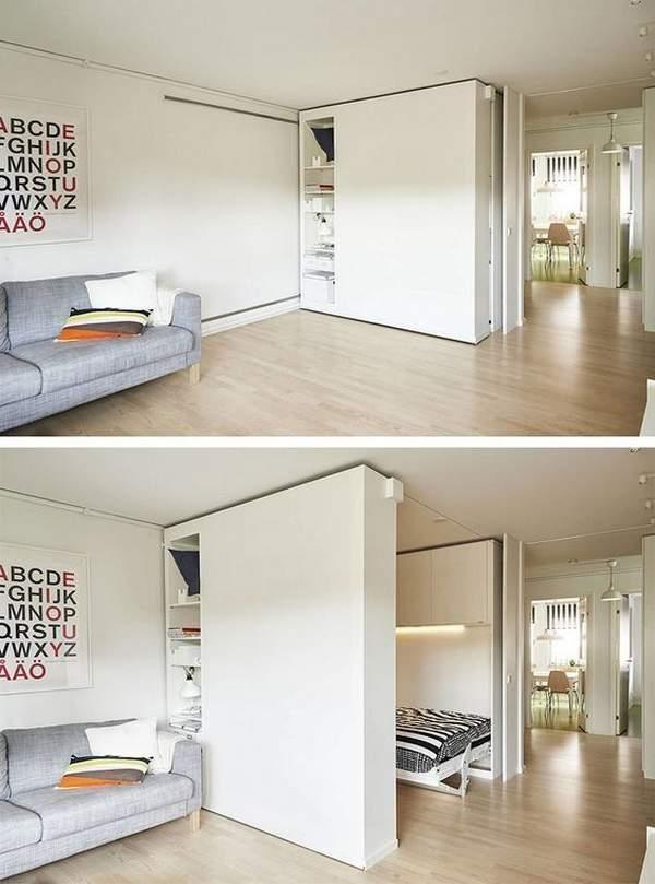 расставить мебель в однокомнатной квартире 40 кв, фото 11