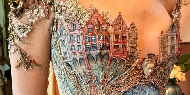 Невероятные платья, изготовленные своими руками, от которых у окружающих буквально отвисает челюсть!