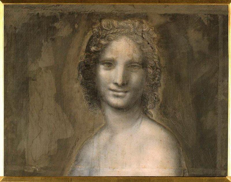 Существует обнажённая картина «Моны Лизы»