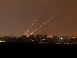 Около 70 ракет были выпущены по Израилю из сектора Газа