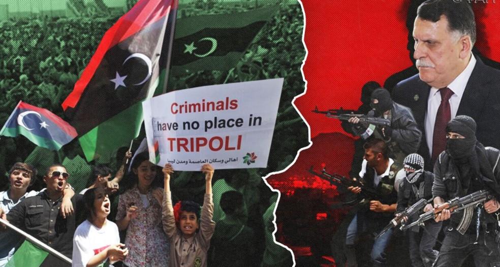 В Триполи прошли массовые протесты против режима ПНС