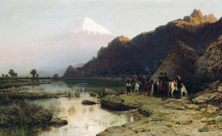 художник Лев Лагорио картины – 19