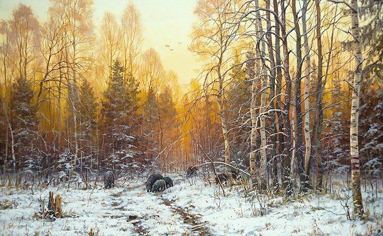 Край родной! Пейзажи Валерия Артамонова