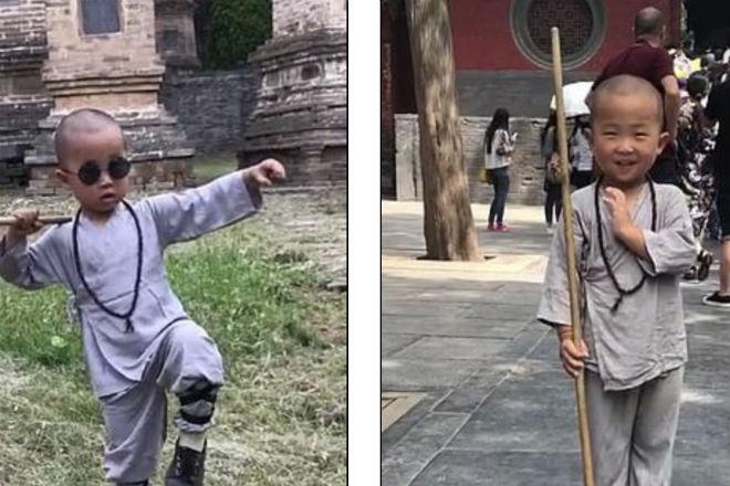 Мастерство 3-летнего шаолиньского монаха поразило мир