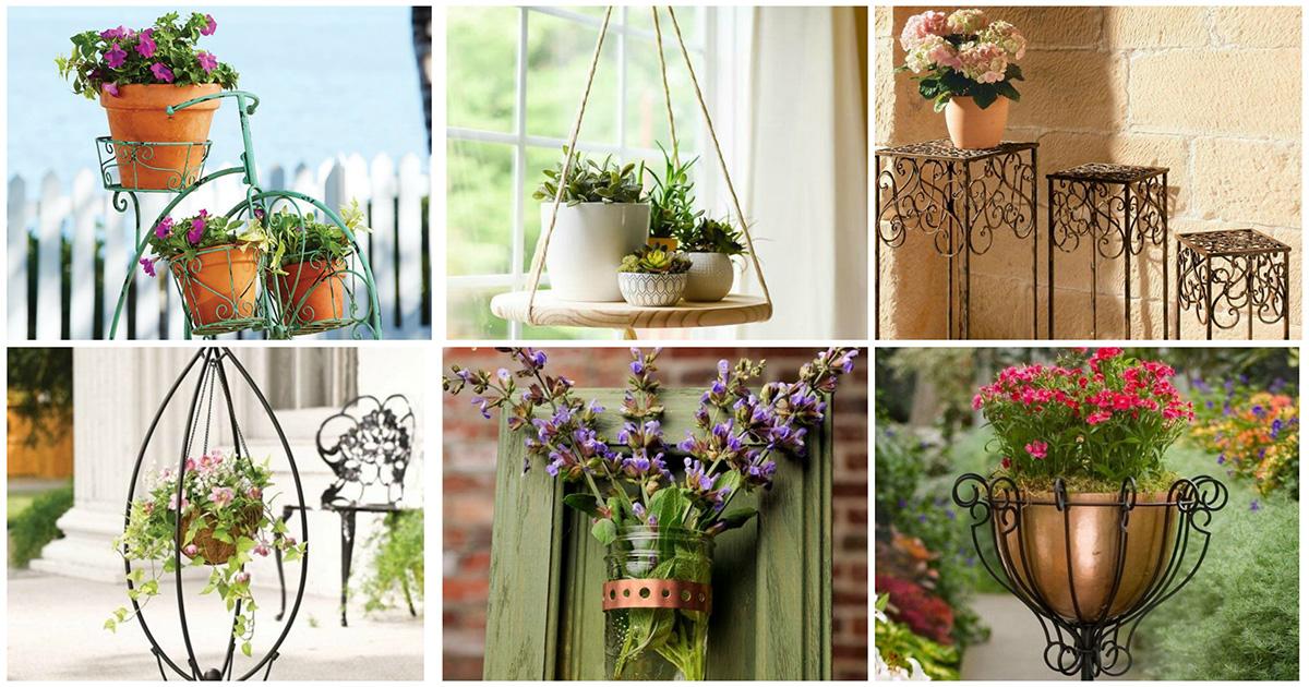 30 отличных примеров размещения цветов для дома и дачи