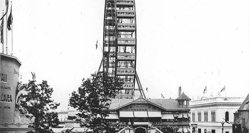 В попытках превзойти Эйфелеву башню: история появления первого колеса обозрения