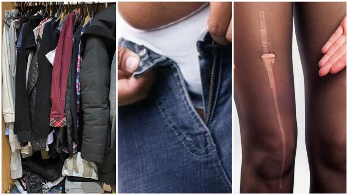 «Скелеты в платяном шкафу» почти всех женщин, о наличии которых они тщательно умалчивают гардероб,мода и красота,одежда и аксессуары