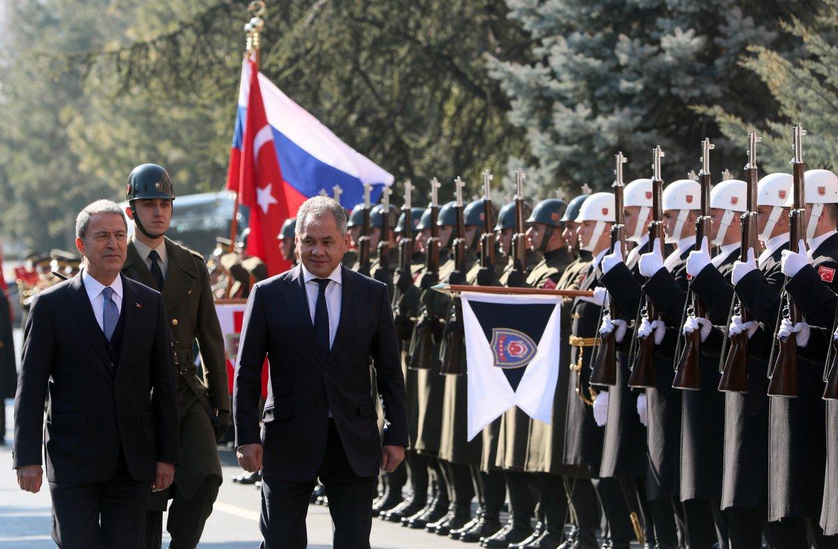 Переговоры в Анкаре. 11.02.2019