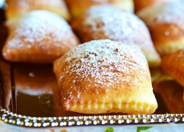 Простые дрожжевые пончики