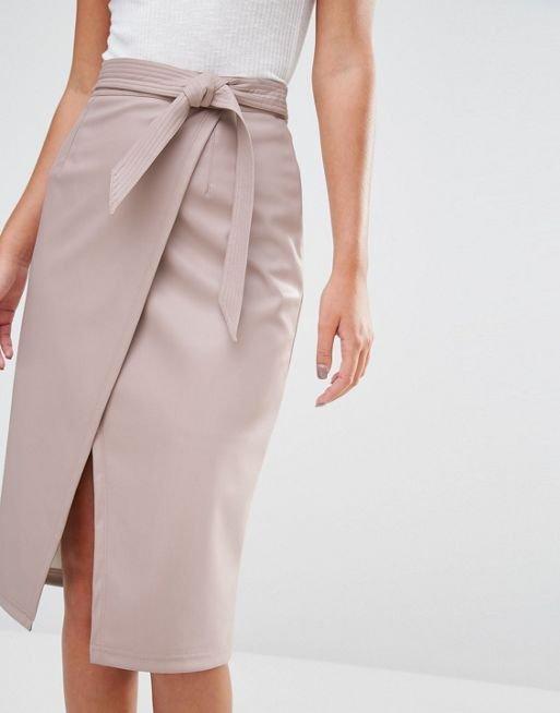 Модный фасон юбки.