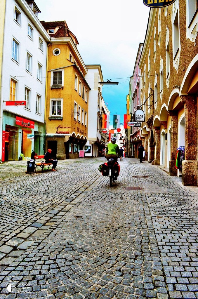 Старинный город Штайр